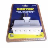 72 Multicontacto Bisagra Polarizado 3 Entradas Surtek 136071
