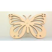 Mariposa Calada 30x20 - Mdf / Fibrofacil