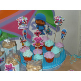 Toppers Para Cupcakes - Brochette Gomitas Personalizados