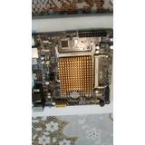 Placa Mãe Asus J1800i-c/br Com Processador Integrado