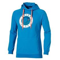 Buzo Asics Padel Graphic Hoodie Azul Importado De España!!!