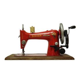 Réplica Máquina De Costura Modelo Vintage Singer Industrial