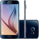 Smartphone Samsung Galaxy S6 G920 Preto 32gb 4g Vitrine