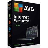 Avg Antivirus Internet Security 2018 + Licensia De 1 Año 4pc