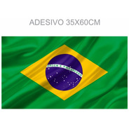 Kit 2 Bandeiras Brasil Adesivo Campanha Silenciosa Janela
