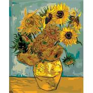 Oleo Por Numeros Girasoles Vang Gogh
