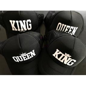 Gorras Pareja King Queen