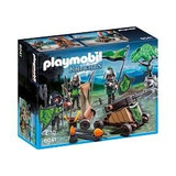 Playmobil Figuras Del Lobo Y Catapulta