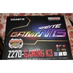 Placa Madre Gigabyte Z270 - Gaming K3 Nueva
