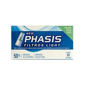 Filtros Light New Phasis Antitabagismo 1un.