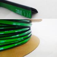Perfil Silicone P/ Fechamento Vidro De Sacada 8x11-10m Vhb