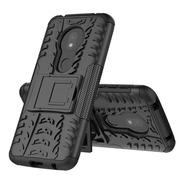 Estuche Antichoque Jkase Motorola Moto G7 Play - Negro