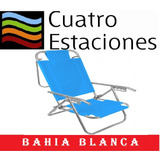 Reposera Aluminio Playera En Bahia Blanca!!!