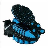 Sapato Nike Total Shox 12 Molas Tênis Masculino Cano Baixo