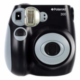 Cámara Digital Instantánea Polaroid Pic-300 Negra Tienda Of