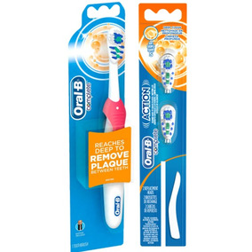 Escova Dental Elétrica Oral B Cross Action Complete +2 Refil