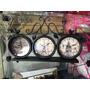 Relógio Mesa Triplo Vintage Retrô Ferro França Usa Uk