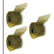 3 Rollos Clavos Electrosoldado Clavadora Neumática 25 X 63
