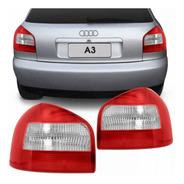 Par Lanterna Audi A3 Bi-color Original 2001 A 2006