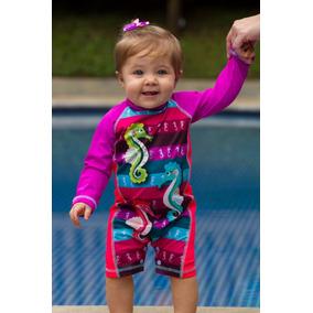 Traje De Baño Bebe Con Proteccion Solar Ref 4104