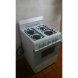 Cocina De 4 Hornillas Encendido Electrico