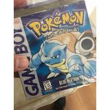 Juego Pokemon Blue Game Boy En Caja De Colección Ntdf