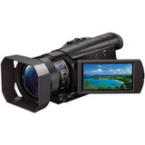 Sony Fdrax100-b Expert Handycam 4k Vídeo Cámara Kit
