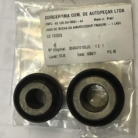 Bucha Amortecedor Traseiro Citroen C3 Jgo C/ 4 Pçs P/ 2 Lado