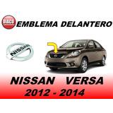 Emblema Delantero De Parrilla Nissan Versa 2012 - 2014