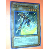 The Six Samurai - Zanji -x1- Ston-en011- Warrior Effect Yugi
