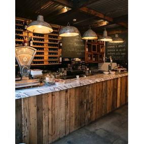 Barras para cafeterias vintage en mercado libre m xico - Barras de bar para salon ...