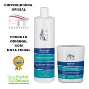 Kit Bio Restore Shampoo 1lt E Máscara 1kg - Fit Cosmetics
