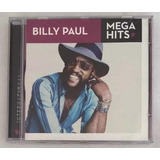 Cd Billy Paul Mega Hits Original Novo Lacrado
