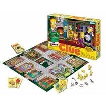 Clue Simpsons El Juego De Detectives - Hasbro - Mundo Manias