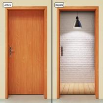 Adesivo Decorativo De Porta - Luminária - Luz - 202mlpt