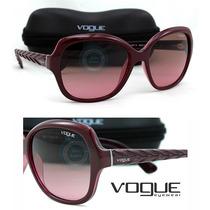 Lente Solar Gafas Vo2871s -2262 Pink - Brown Gradient Nuevo