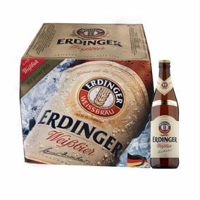 Erdinger Weissbier 500 Ml Cerveja Alemã Caixa 12 Garrafas