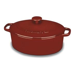 Cacerola Chef Hierro Fundido Ci755-30cr (roja)-cuisinart