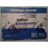 Manual Catálogo De Despiece: Lambretta 125/150 Li-175 Tv ´62