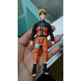 Boneco Naruto Uzumaki Articulado Seminovo C/ Pequeno Defeito