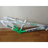 Marco Dirt Viking X Tuff 25 Dh Verde Blanco Nuevo