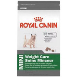 3 Bultos Weight Control Raza Mini Royal Canin 1.3 Kg.