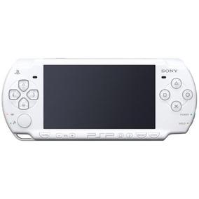 Psp Slim 2007 White + 8gb + 80 Jogos Completos - Envio Hoje