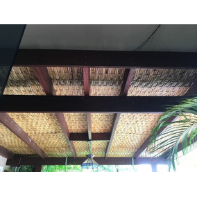 (m2) Esteira De Bambu P/ Forro, Pergolado, Espaço Gourmet