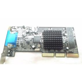 019 - Placa De Video Aceleradora Agp Tnt2 M64