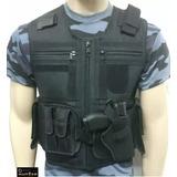 Colete Tatico Militar Policial Segurança Vigilante Airsoft