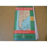 Carta Turistica Del A.c.a. N°1, N°2 Y N°5
