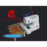 Máquina Overlock, Collareta Y Tapacostura Enigma Lock 4070