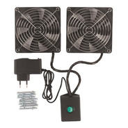 Kit De Ventilação Para Rack 2 Ventil Padrão Univl Bivolt Pat