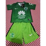 Uniforme Jersey Playera America Tercer Kit 2017 Niño
